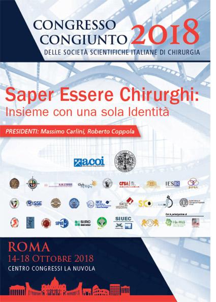 CONGRESSO CONGIUNTO 2018  ROMA 14/18 OTTOBRE